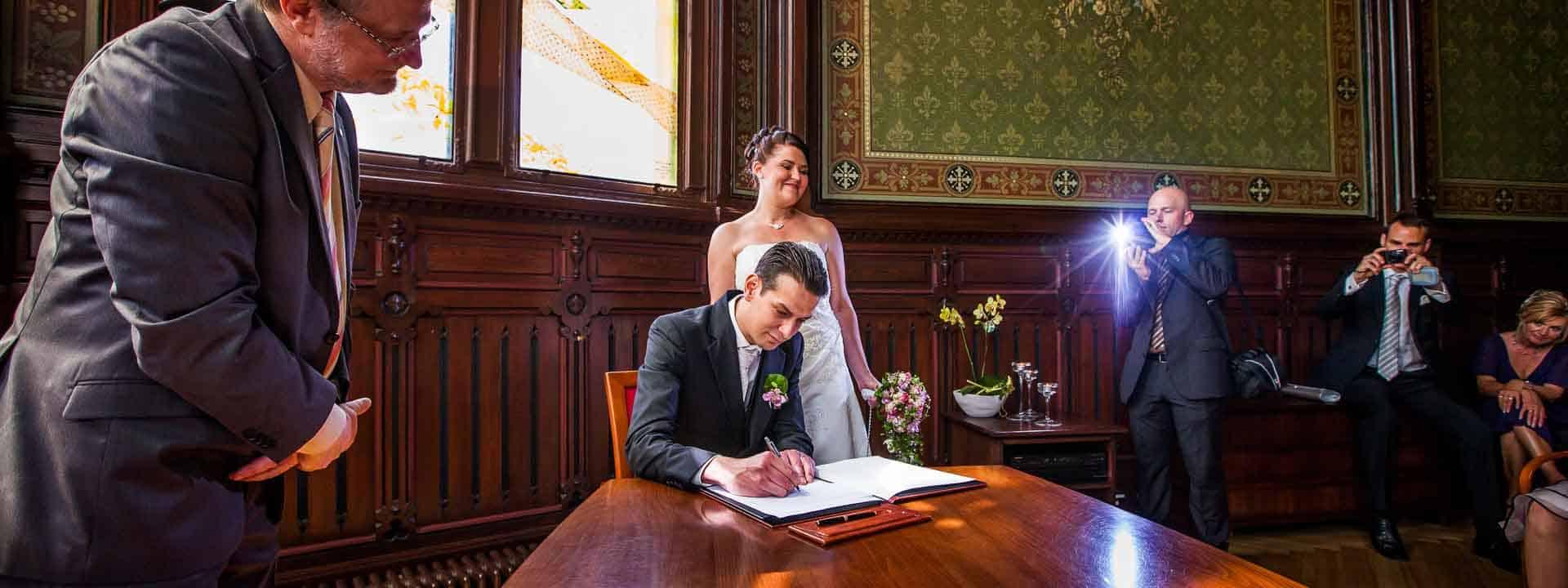 Hochzeit im Standesamt Neukölln