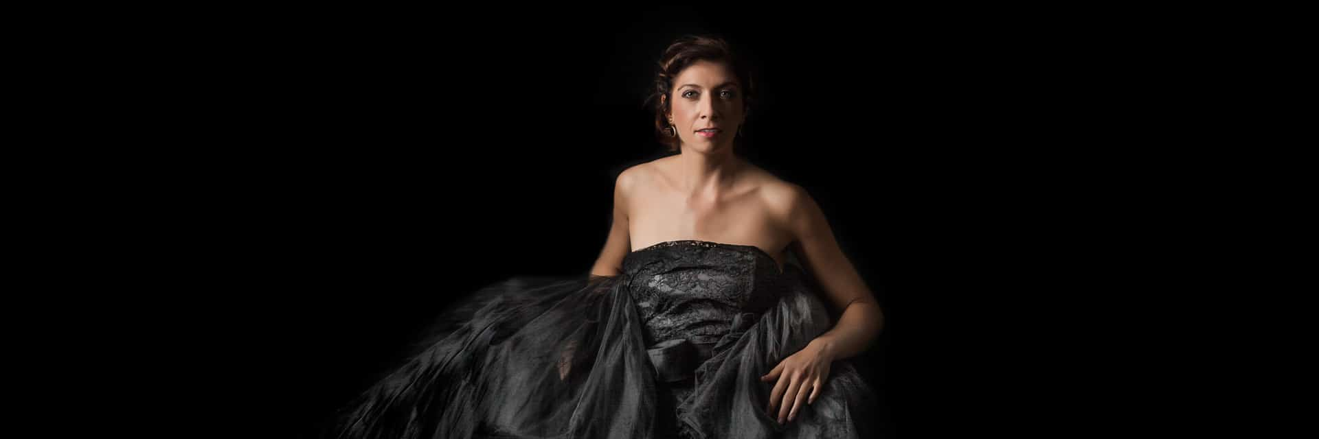 Portrait einer Opernsängerin